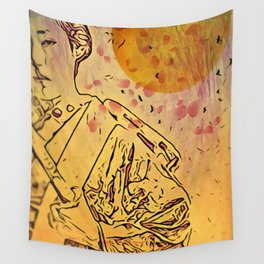 Indomitable Wall Tapestry