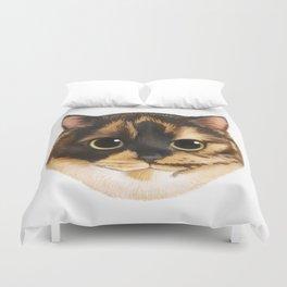 Round Cat - Lang Duvet Cover