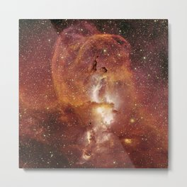 Star Clusters Space Exploration Metal Print