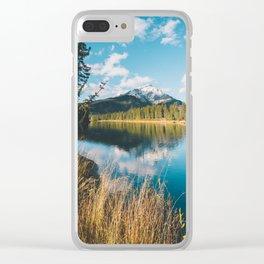Banff National Park II Clear iPhone Case