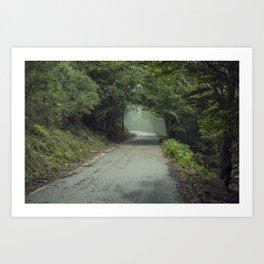 Lost Away Art Print