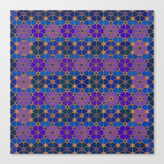 Flower of Life Pattern 3 Canvas Print