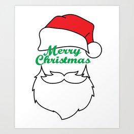 Hilarious & Joyful Xmas Tshirt Design Merry Christmas Everyone Art Print