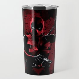 Dead Pool Ninja Travel Mug