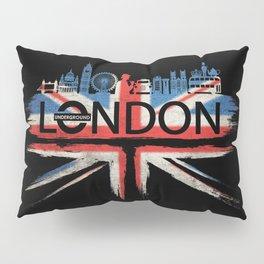 London Pride_Black Pillow Sham