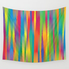 Paint Yourself In Stripe Wall Tapestry