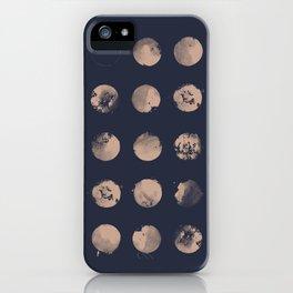 Douze Lunes iPhone Case