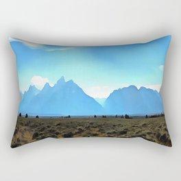 High Altitude Rectangular Pillow