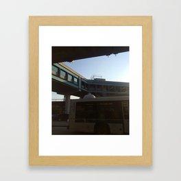 Port by Air Framed Art Print