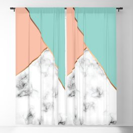 Marble Geometry 056 Blackout Curtain
