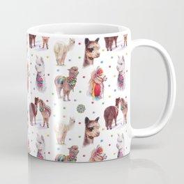 Alpaca dots Coffee Mug