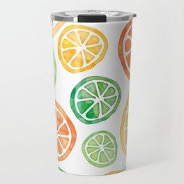 Lemons, limes and tangerines Travel Mug