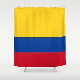 Flag of Colombia-Colombian,Bogota,Medellin,Marquez,america,south america,tropical,latine america Shower Curtain