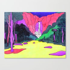 Waterfall #2 Canvas Print