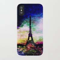 eiffel tower iPhone & iPod Cases featuring eiffel tower by haroulita