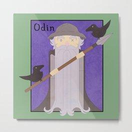 Odin Metal Print