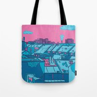 budapest Tote Bags featuring Budapest by Zsolt Vidak