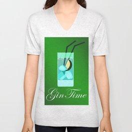 Gin Time Unisex V-Neck