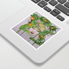 In the Citrus Family Sticker