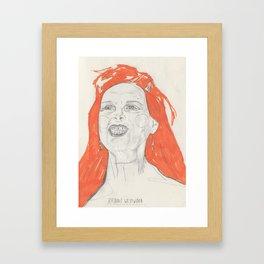 Viv Framed Art Print