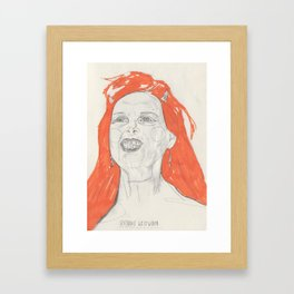 Viv Framed Art Print