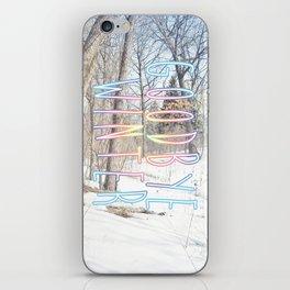 Goodbye Winter iPhone Skin