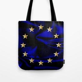 EU Silk Flag Tote Bag