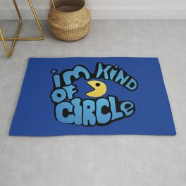 Pacman Kind Of Circle Rug