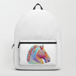 Horse Head from the Equestrian statue of Marcus Aurelius Backpack