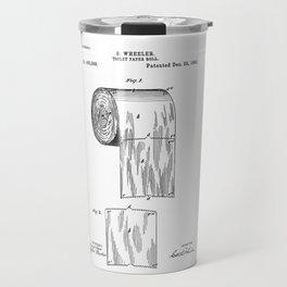 tolilet paper patent Travel Mug