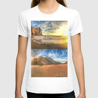 tennessee T-shirts featuring Tennessee Valley Stacked Panorama by Brandon Beacon Hill