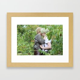 20150926 Mike X Nanaba, Serenity Framed Art Print