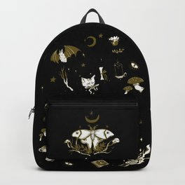 Midnight Moon Witch Backpack