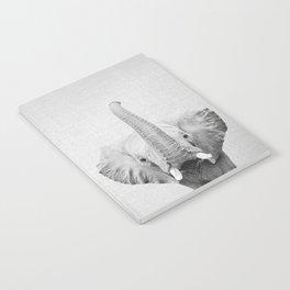 Elephant 2 - Black & White Notebook