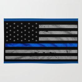 Blue Lives Matter Rug