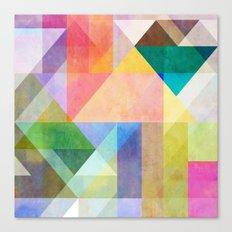 Color Blocking 1 Canvas Print