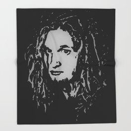 Layne Staley - Alice in Chains Throw Blanket