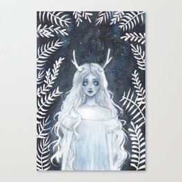 Lost spirit Canvas Print