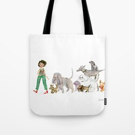 Doggy happiness Tote Bag
