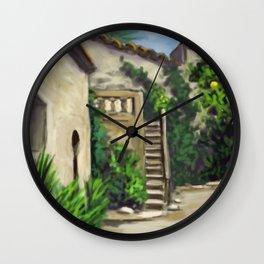 Arab Baths in Palma DP150724a Wall Clock