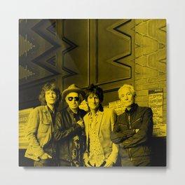 The Rolling Stones - Celebrity Metal Print
