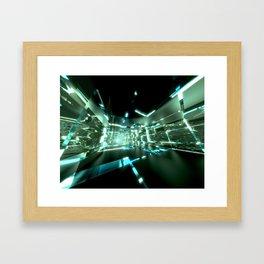 Emerald Tunnels no2 Framed Art Print