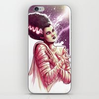 bride iPhone & iPod Skins featuring BRIDE by Lorena Carvalho