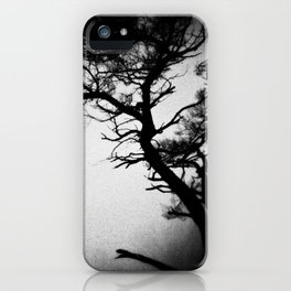 Tree in the fog iPhone Case