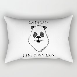 Sinon, un panda (5) Rectangular Pillow