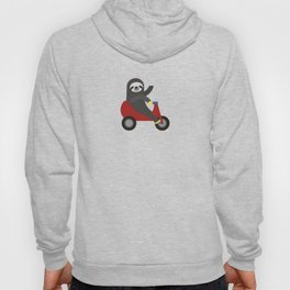 Sloth on Tricycle Hoody