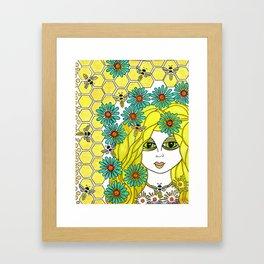 The Bee Keeper Framed Art Print