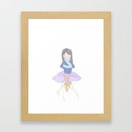 Kuragehime Framed Art Print