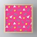 Geometric Memphis in Pink by wellingtonboot