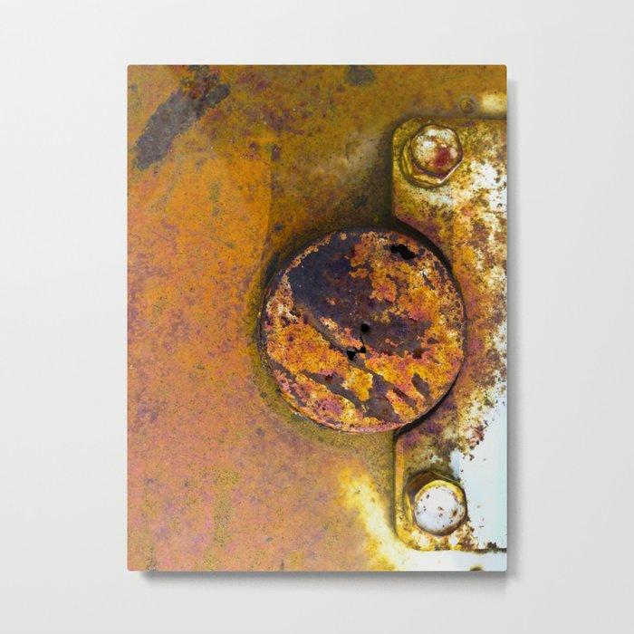 Rusting Quietly Metal Print
